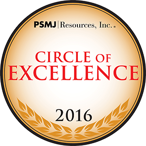 PSMJ Circle of Excellence Award 2016