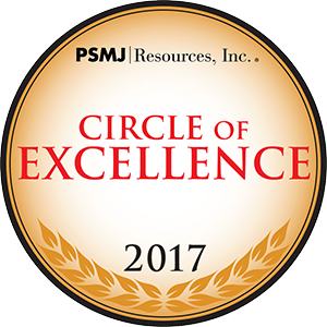 PSMJ Circle of Excellence Award 2017