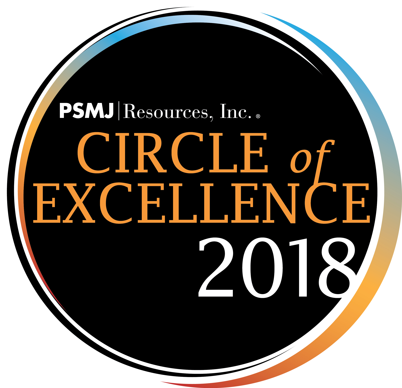 PSMJ Circle of Excellence Award 2018